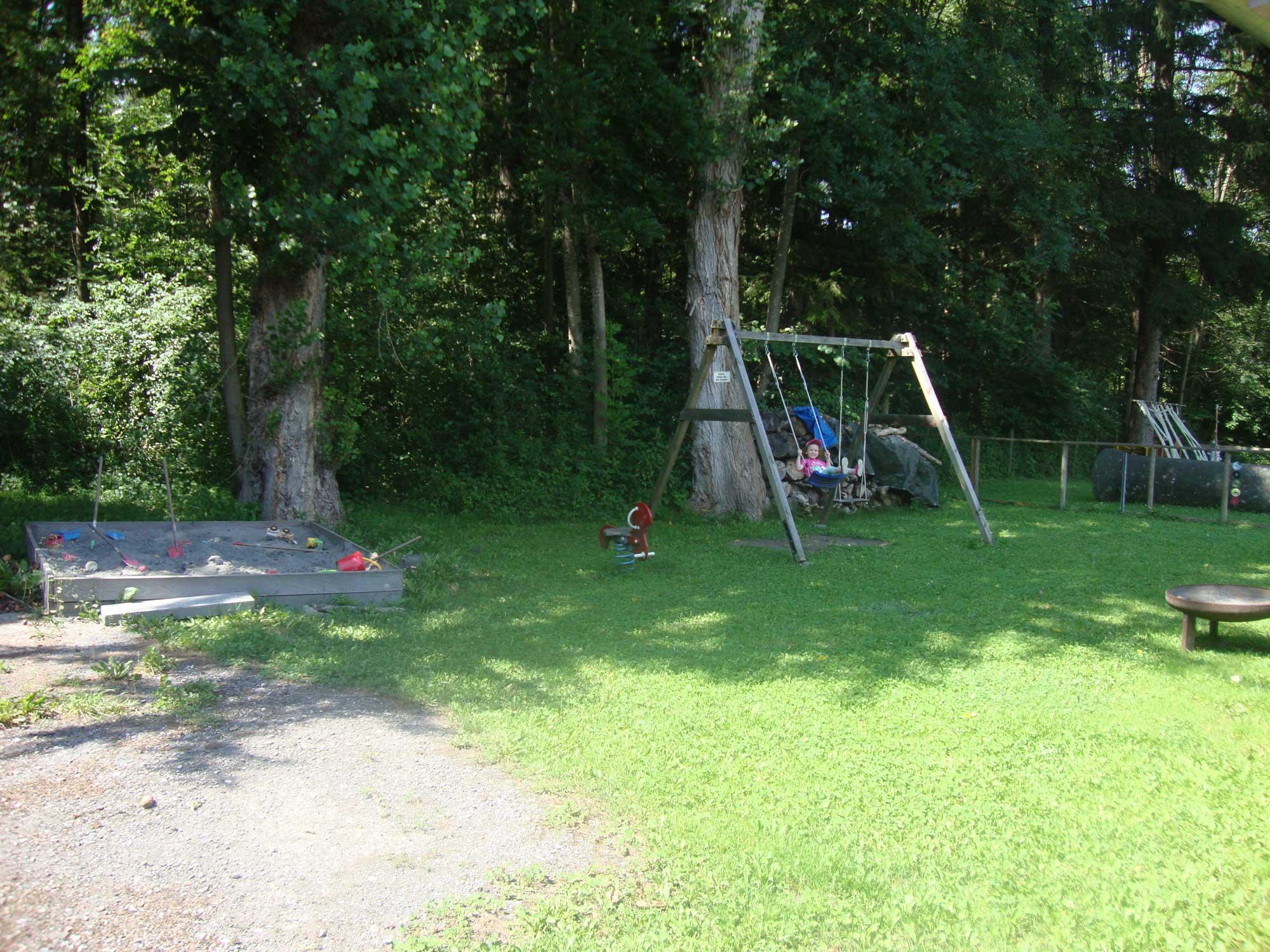 Spielplatz des Hundesportvereins